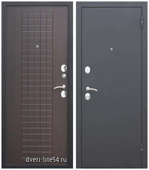 Ferroni, Гарда Муар 8 мм, чёрный муар / венге
